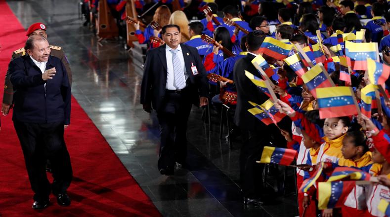 El jefe de Estado de Nicaragua, Daniel Ortega