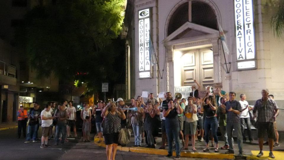 Concordia se sumó al ruidazo nacional contra el Tarifazo