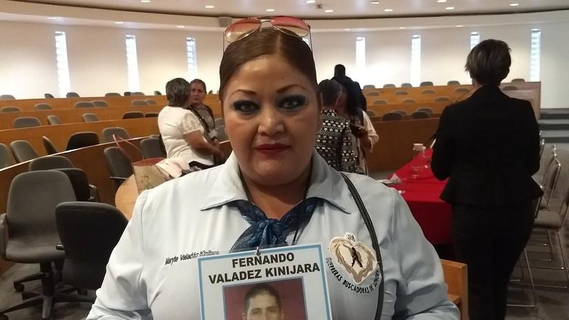 María Teresa Valadez busca a su hermano Fernando, desaparecido en 2015 en Guaymas, Sonora, norte de México.