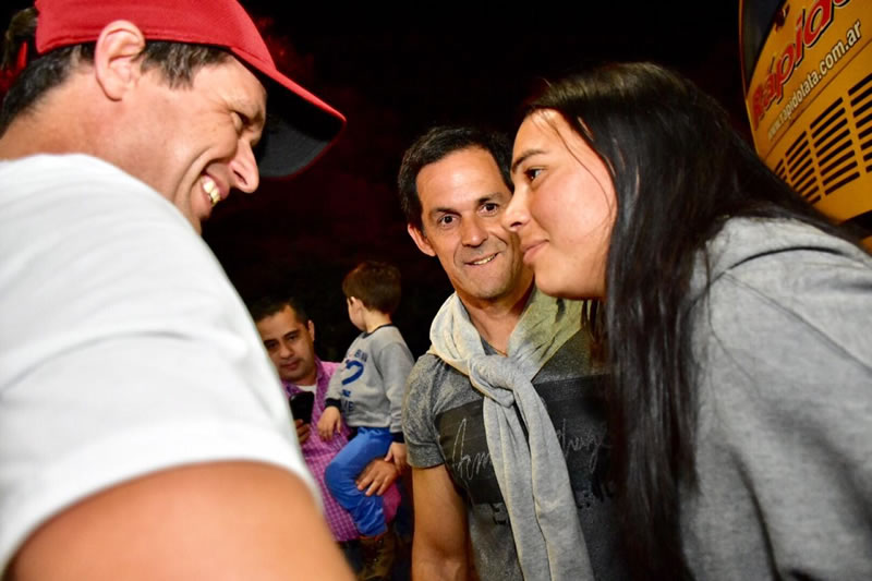 Cresto recibió a la jugadora concordiense que participó del Mundial de Fútbol Femenino en Francia