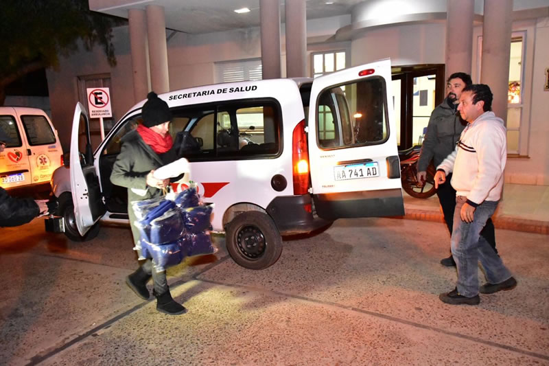 El municipio de Concordia refuerza la asistencia a personas en situación de calle