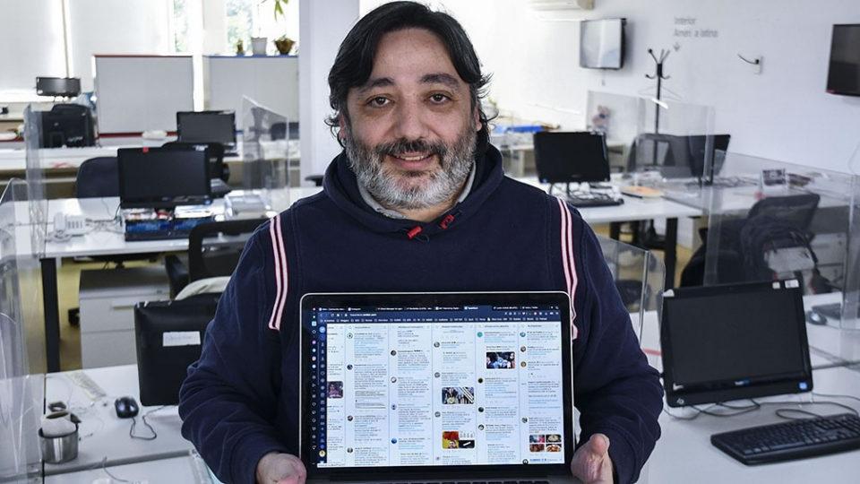 Alejandro Daniel José, un experto en seguridad informática que trabaja estrategias comunicacionales a través de su agencia MKT de marketing digital.